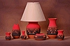Sioux Pottery's design gallery - Lakota Fire pottery collection