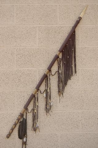 Native American Indian Spears