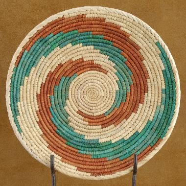 Southwest Indian Traditional Friendship Plate Basket