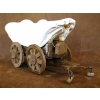 Wooden Covered Wagon Model