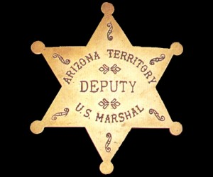 Reproduction Brass Depty Marshal Badge