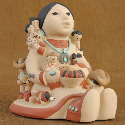 Storyteller Pottery by Teissedre