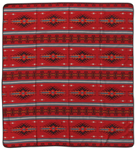 Southwestern Print-Red