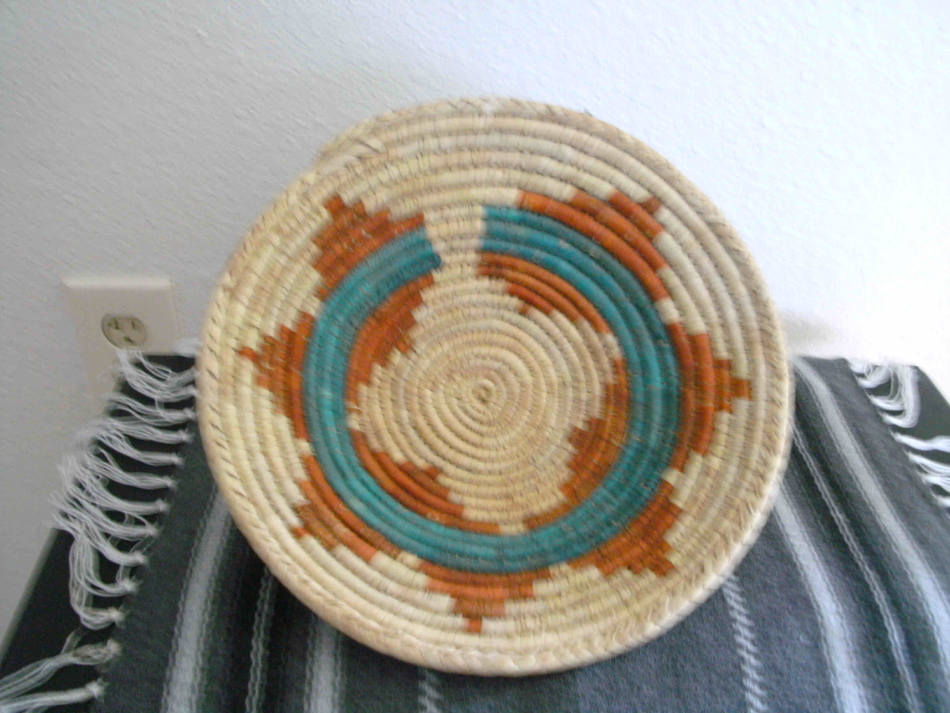 Southwest Indian Wedding Design Small Bowl Basket