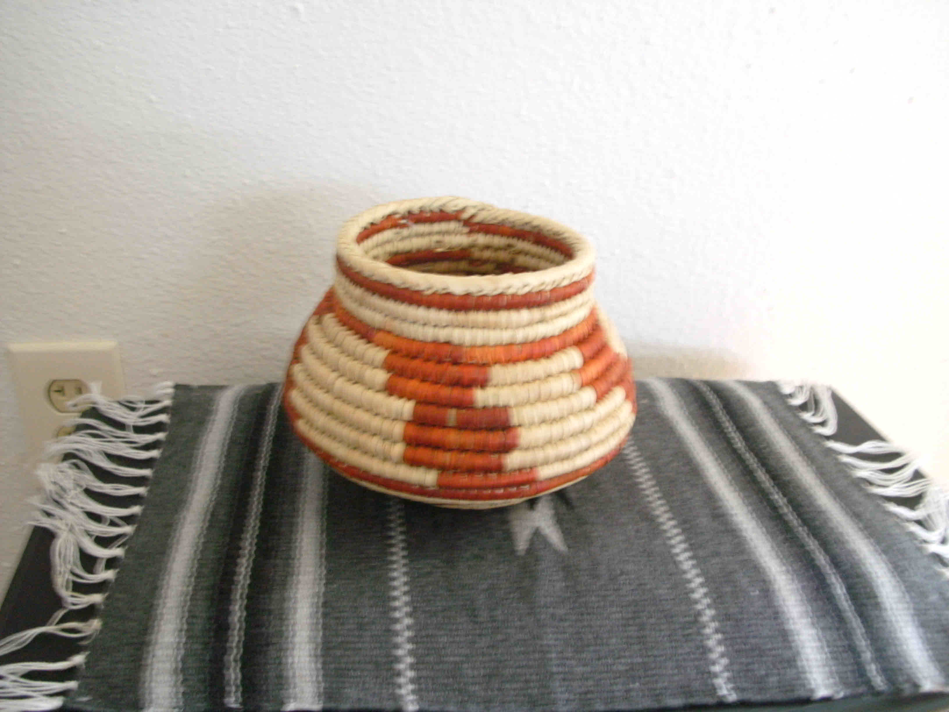Southwest Indian Small Storm Design Bowl Baskets