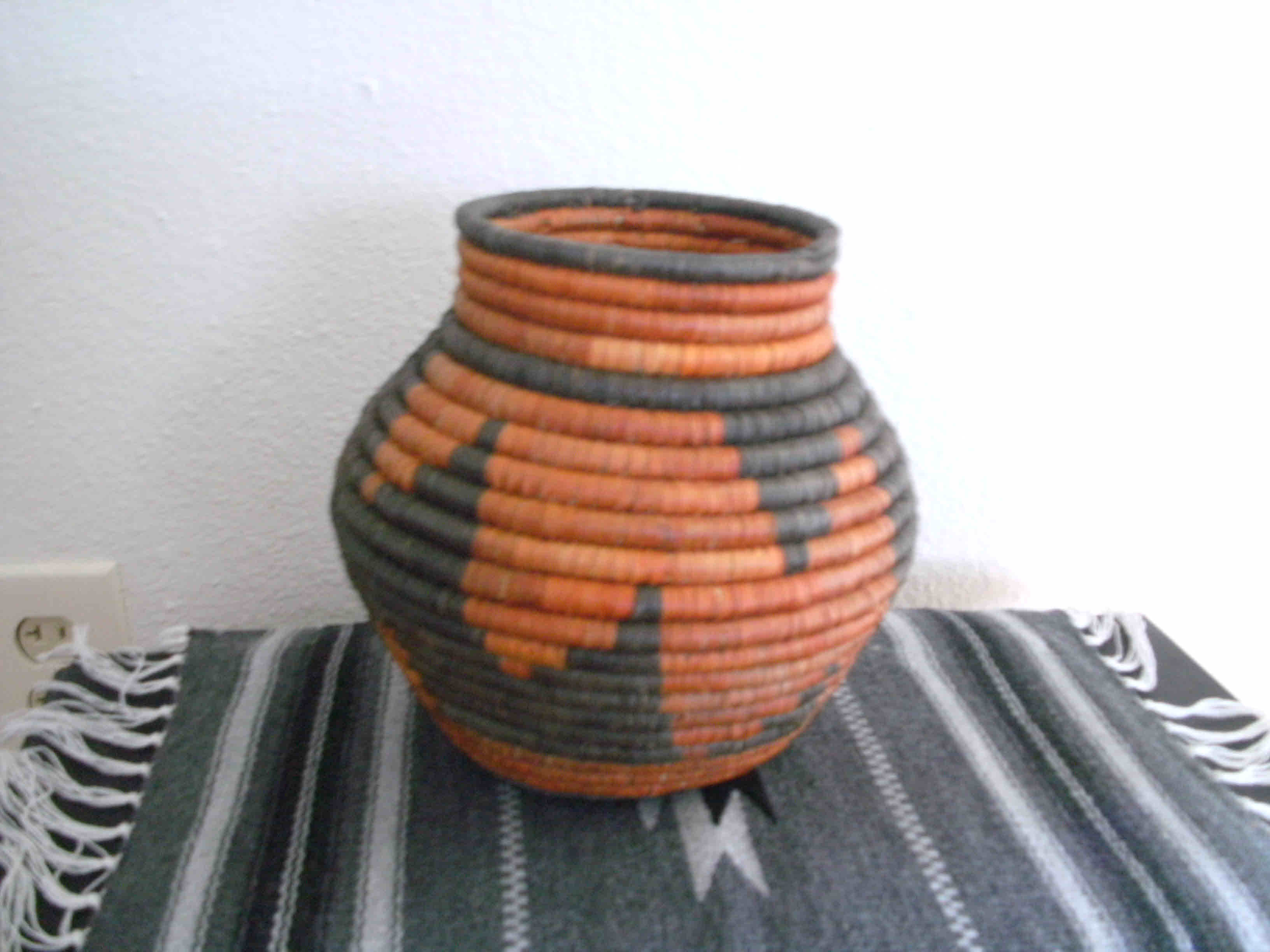 Southwest Indian Storm Design Cobra Baskets