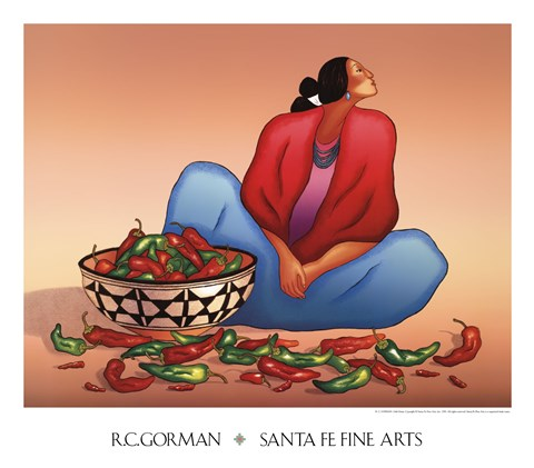 Chile Fiesta by R.C. Gorman