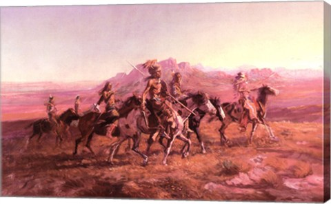 Sun River War Party by Ingrid Russell