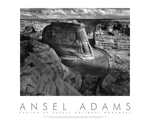 Canyon de Chelly National Monument by Ansel Adams art print