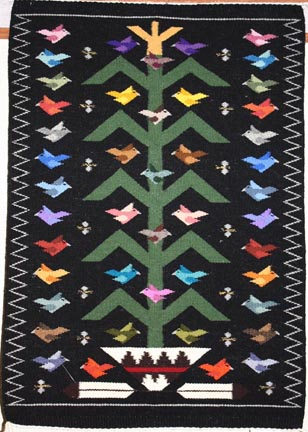 Tree of Life Rug by Navajo weaver Rena Begay