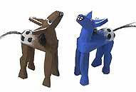 Navajo Folk Art Wooden Horse