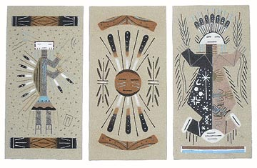 4X8 Unframed Sand Paintings