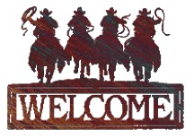 Ghost Riders Wecome Sign