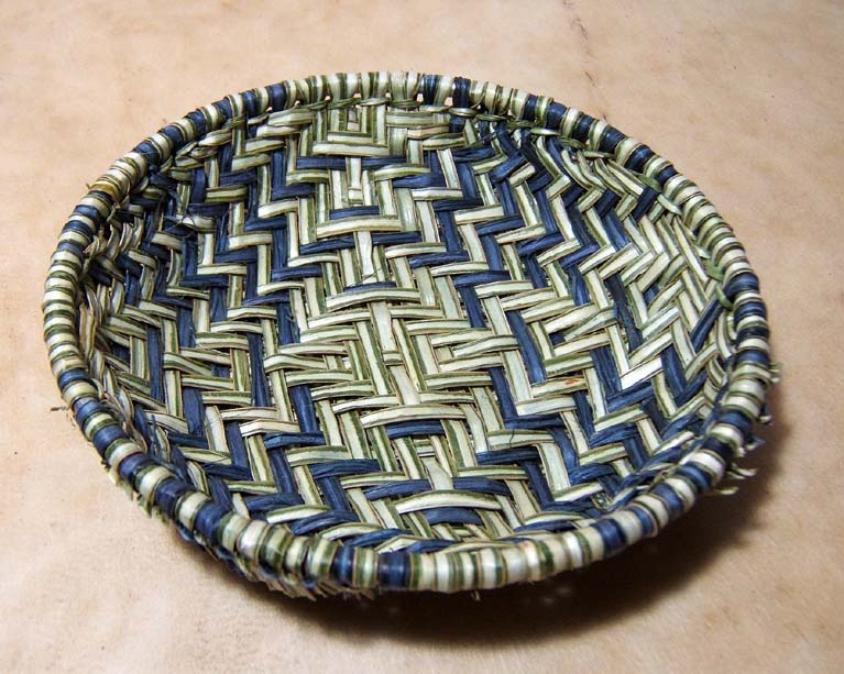 Traditional Hopi Sifter Basket  by BOBBY SILAS
