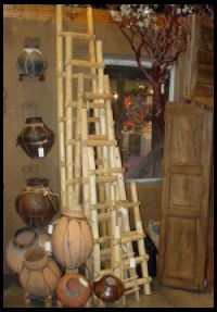 Welcome to AZ Trading Post Tarahumara ladders, Kiva Ladders Collection