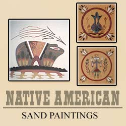 Welcome to AZ Trading Post Native American Indian Sand Painting Art Gallery