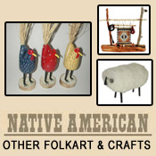Collectible Cowboy and Indian Folk Art And Crafts