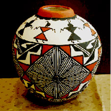 Acoma Indian Made pottery