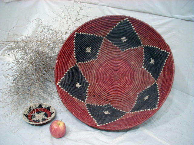Southwestern and Native American Indian Design Baskets