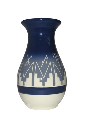 Sioux pottery Yard Vase