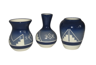 Welcome to AZ Trading Post Sioux Pottery Oglala Blue Collection