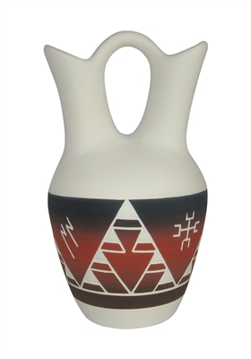 Sioux pottery Matte Finish Lakota Night Wedding Vase
