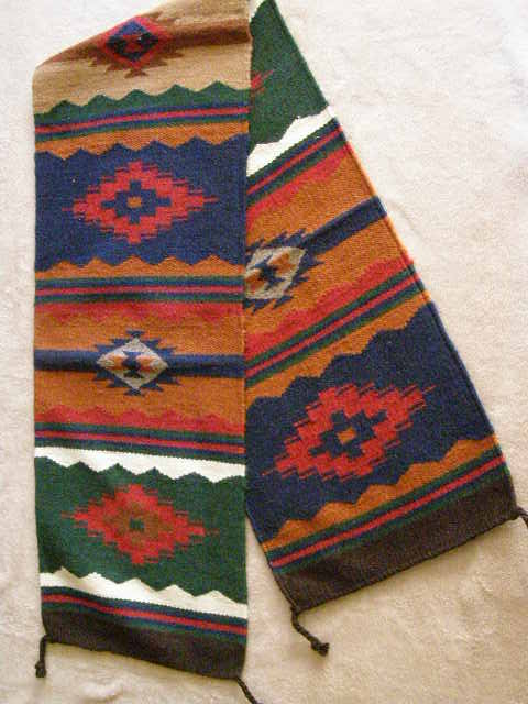 Mexican Zapotec Designer Table Runners Amp Rugs From Mexico