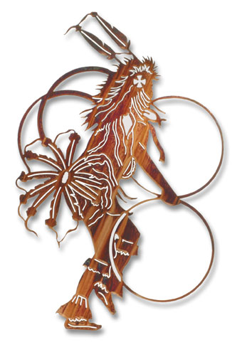 Hoop Dancer Wall Hanging