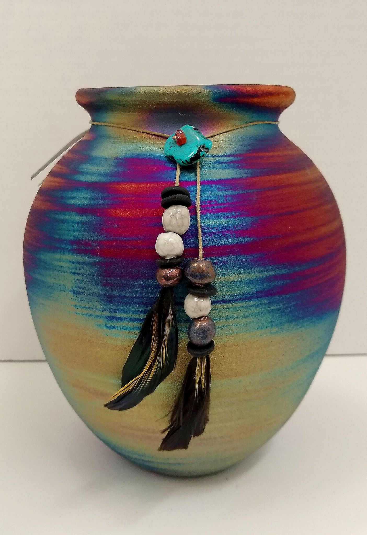 Welcome to our Hand-Made Raku Pottery Collection
