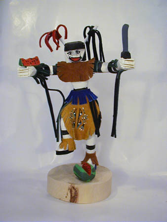 Navajo Made Clown Kachina Doll