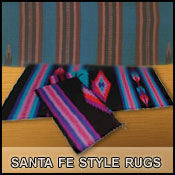 Southwestern, Santa Fe design Indian Wool Rugs