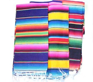 Mexican sarape blankets from Mexico